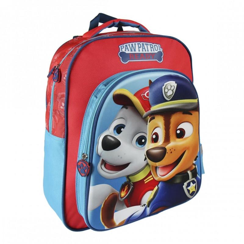 Dětský 3D batoh Paw Patrol Ready / Tlapková Patrola / Marshall a Chase 31 x 41 x 13 cm