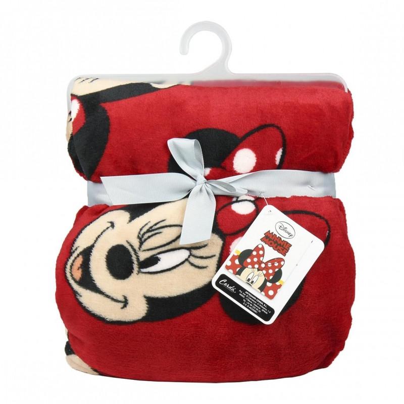 ... Hladká fleecová deka Minnie Mouse   120 x 160 cm   veci z filmu ... b5d6330991