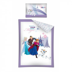 Bavlněné Povlečení dětské Frozen / 100 x 135 cm