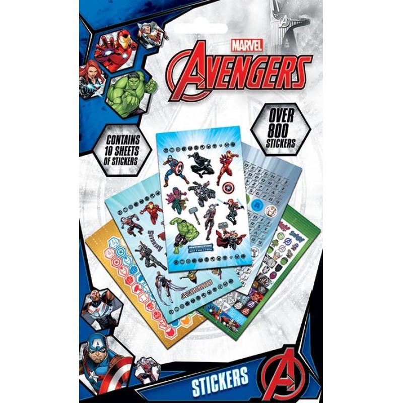 Nálepky / samolepky Avengers / 800 samolepek v balení