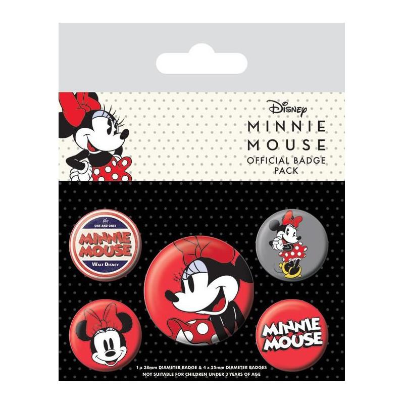 Odznaky Minnie Mouse / 10 x 12,5 cm