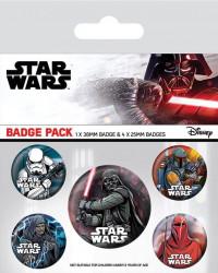 Odznaky Star Wars (DARK Side) / 10 x 12,5 cm / veci z filmu