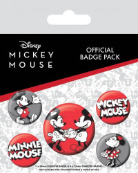Odznaky Mickey Mouse / 10 x 12,5 cm / veci z filmu