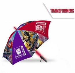 Automatický deštník s LED světlem s roboty Transformers / vecizfilmu
