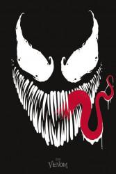 Plakát na stěnu Venom / Face 61 x 91,5 cm  / vecizfilmu
