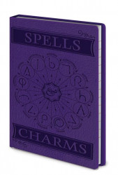 Notes / Blok Harry Potter / SPELLS And Charms /  A6 / veci z filmu