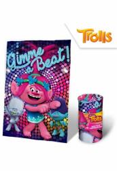 Dívčí hebká fleecová deka Poppy / Branche / Trolls / Trollové 100 x 150 cm / vecizfilmu