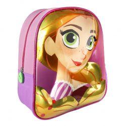 Dívčí 3D batoh Na vlásku / Tangled růžový 25 x 31 x 10 cm / vecizfilmu