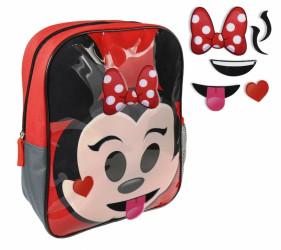 Dívčí batoh s přídavnými ozdobami na přední stranu Disney 26 x 34 x 10 cm / vecizfilmu