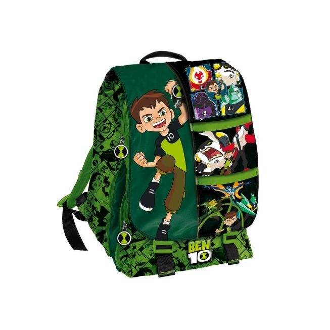 Chlapecký junior batoh s vrchní klopou Ben 10 / 41 x 33 cm