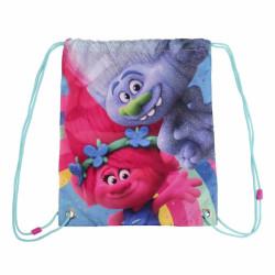 Dívčí gym bag / pytlík na tělocvik Poppy a Květík 31 x 38 cm / vecizfilmu