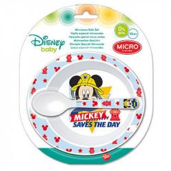 Jídelní sada Mickey Mouse / miska, lžička / veci z filmu