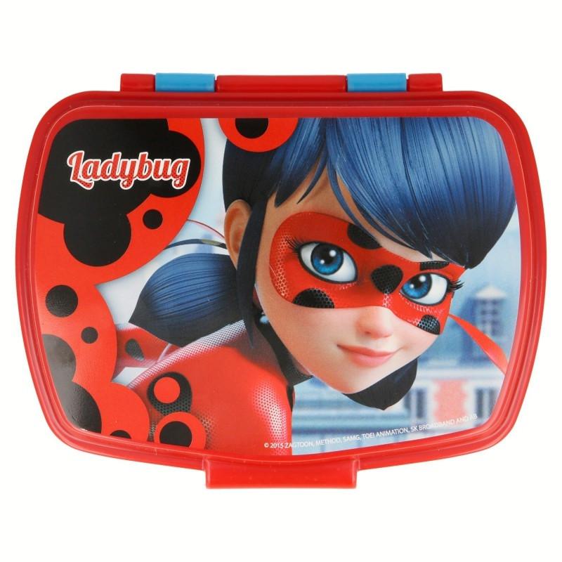 Dívčí lunch box / plastová krabička na svačinu Zázračná Beruška / Miraculous Ladybug
