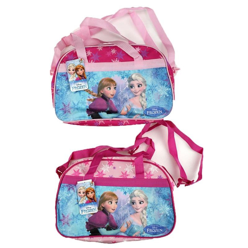 4f28d95f88 Dívčí sportovní taštička Anna a Elsa   Frozen   Ledové Království 34 x 19 x  22