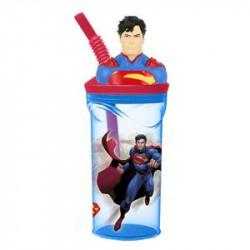 Plastový pohárek s 3D figurkou Supermana / 360 ml / veci z filmu