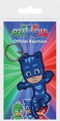 Gumový přívěšek na klíče PJ Masks / Pyžamasky / Catboy / Connor / vecizfilmu