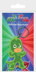 Gumový přívěšek na klíče PJ Masks / Pyžamasky / GEKKO / Greg / vecizfilmu