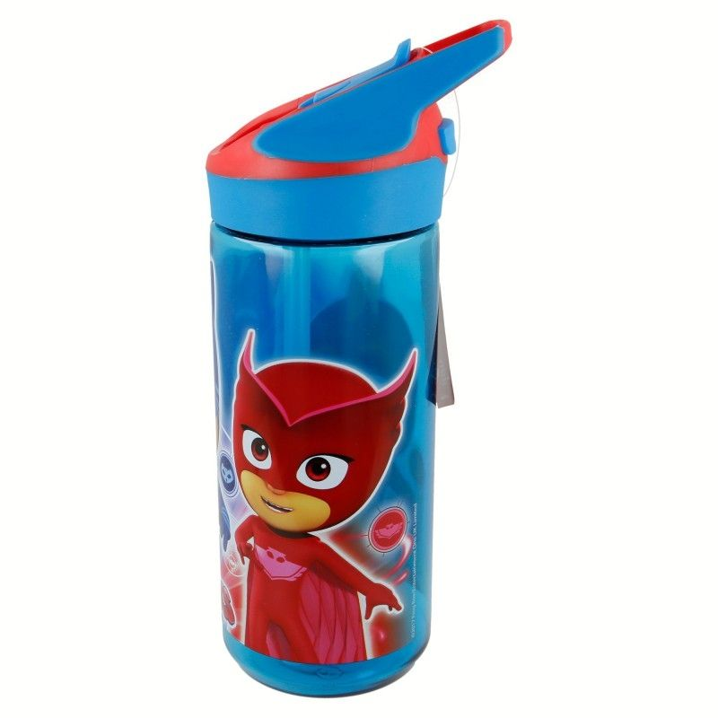 Dětská láhev na pití s krytým pítkem Pyžamasky / PJ Masks / Greg Amaya Connor 620 ml