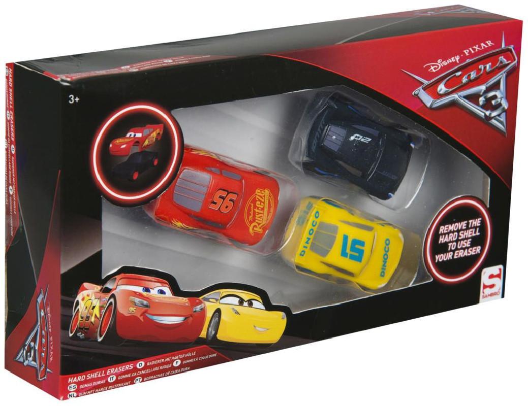 Chlapecká sada 3 ks gumových autíček Cars / Auta
