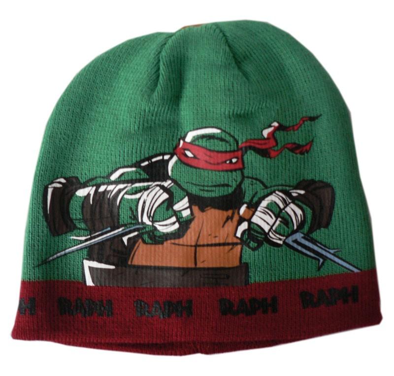 Zimní čepice Želvy Ninja