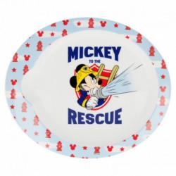Plastový talíř Mickey Mouse Hasič