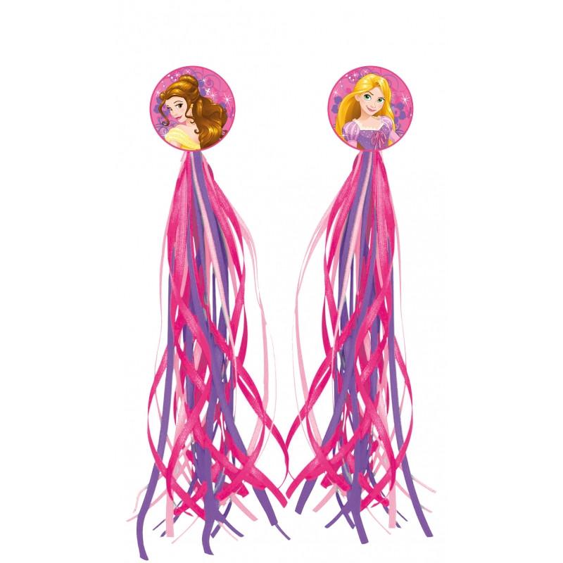 Ozdobné pásky na řiditka dívčího kola Princess / Princezny
