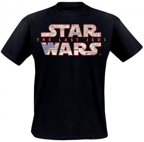 Tričko s krátkým rukávem pánské Star Wars Blue Print velikost XL / vecizfilmu
