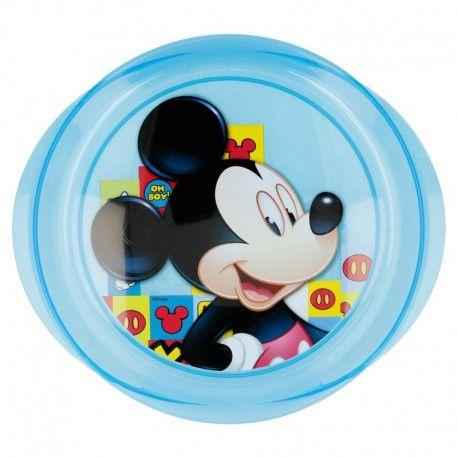 Talíř Mickey Mouse modrý  / vecizfilmu