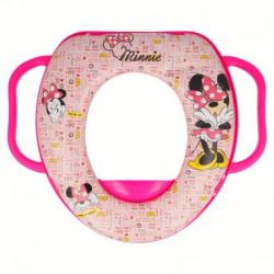 Dívčí polstrované sedátko na WC s úchyty Myška Minnie / Minnie Mouse Pink