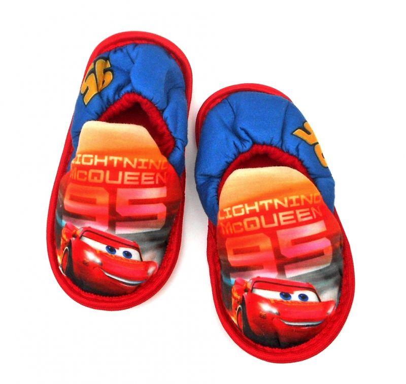 Papuče / domácí měkká obuv Cars / Auta / vecizfilmu