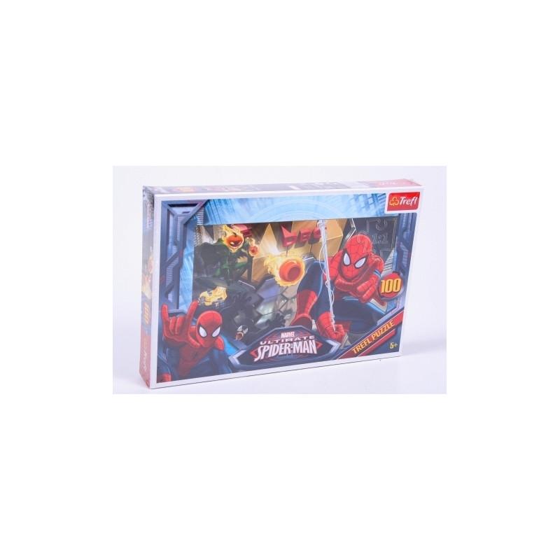 Chlapecké puzzle se Spidermanem 100 dílků
