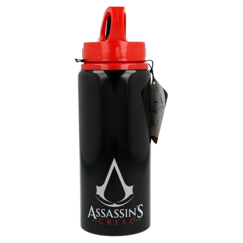 Hliníková láhev se sklopným brčkem / Assassins Creed 710 ml
