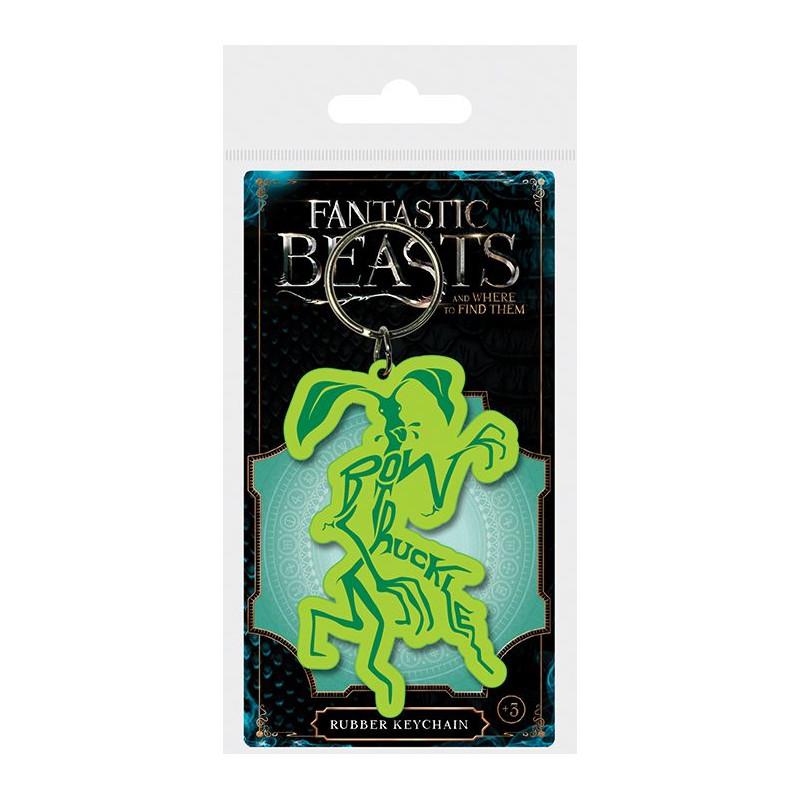 Gumový přívěšek na klíče Fantastická zvířata / Fantastic Beasts / Bowtruckle