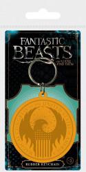 Gumový přívěšek na klíče Fantastická zvířata / Fantastic Beasts / MACUSA Logo / vecizfilmu