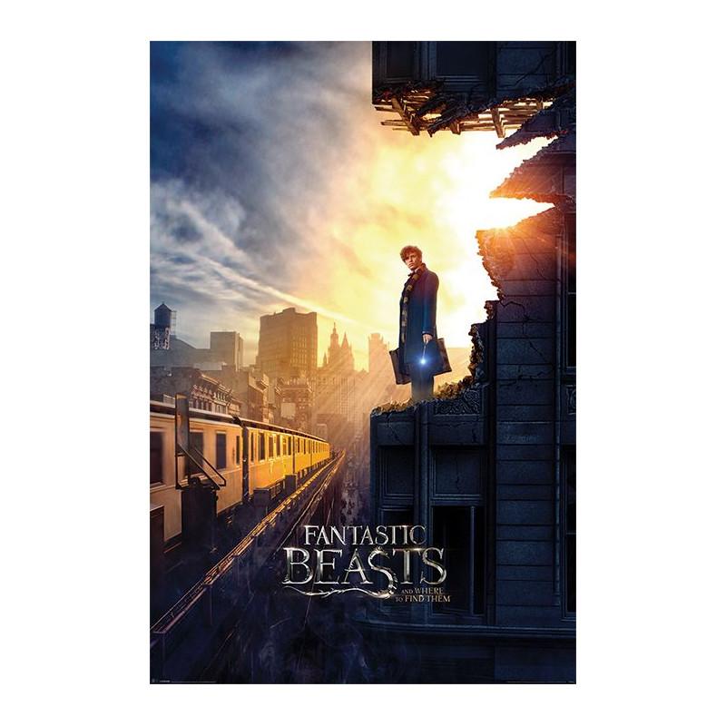 Plakát na stěnu Fantastická zvířata / Fantastic Beasts / Dusk 61 x 91,5 cm