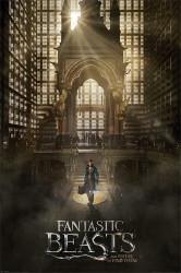 Plakát na stěnu Fantastická zvířata / Fantastic Beasts / Teaser 61 x 91,5 cm / vecizfilmu