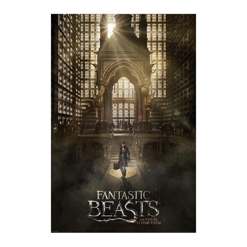 Plakát na stěnu Fantastická zvířata / Fantastic Beasts / Teaser 61 x 91,5 cm