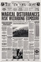 Plakát na stěnu Fantastická zvířata / Fantastic Beasts / The New York Ghost 61 x 91,5 cm / vecizfilmu