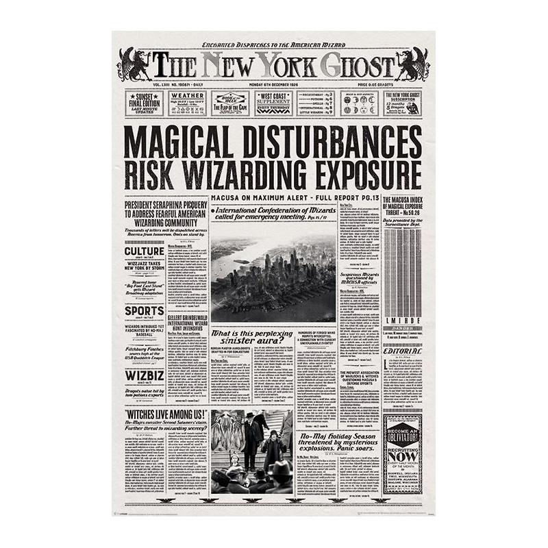 Plakát na stěnu Fantastická zvířata / Fantastic Beasts / The New York Ghost 61 x 91,5 cm