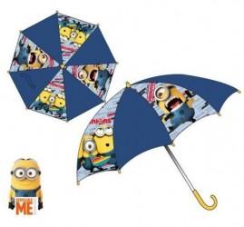Deštník Mimoni Tm.modrý - Žl. Rukojeť