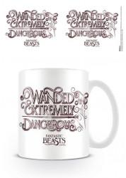 Keramický hrnek Fantastická zvířata / Fantastic Beasts / Wanded 315 ml / vecizfilmu