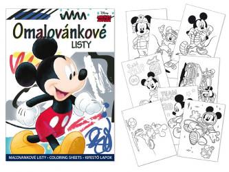 Omalovánky Mickey Mouse / A4  / veci z filmu