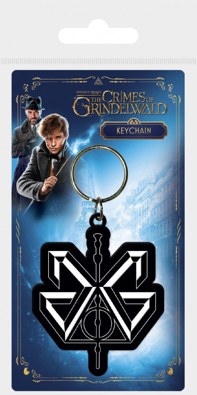 Gumový přívěšek na klíče Fantastická zvířata / Fantastic Beasts / The Crimes Of Grindelwald / vecizfilmu