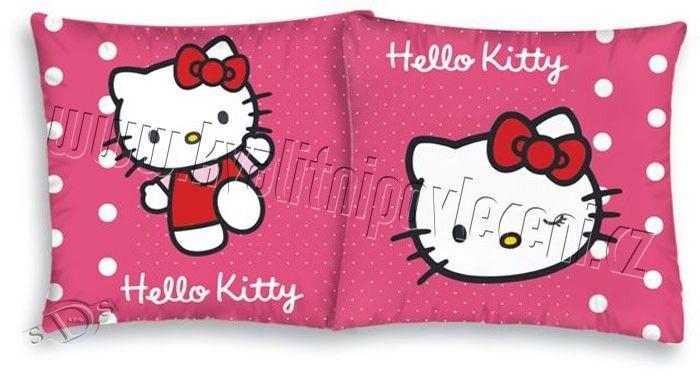 Povlak na polštářek Hello Kitty puntíky 40/40