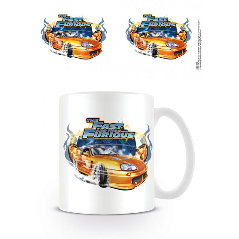 Keramický hrnek Rychle a zběsile / The Fast And The Furious / Drift 315 ml / vecizfilmu