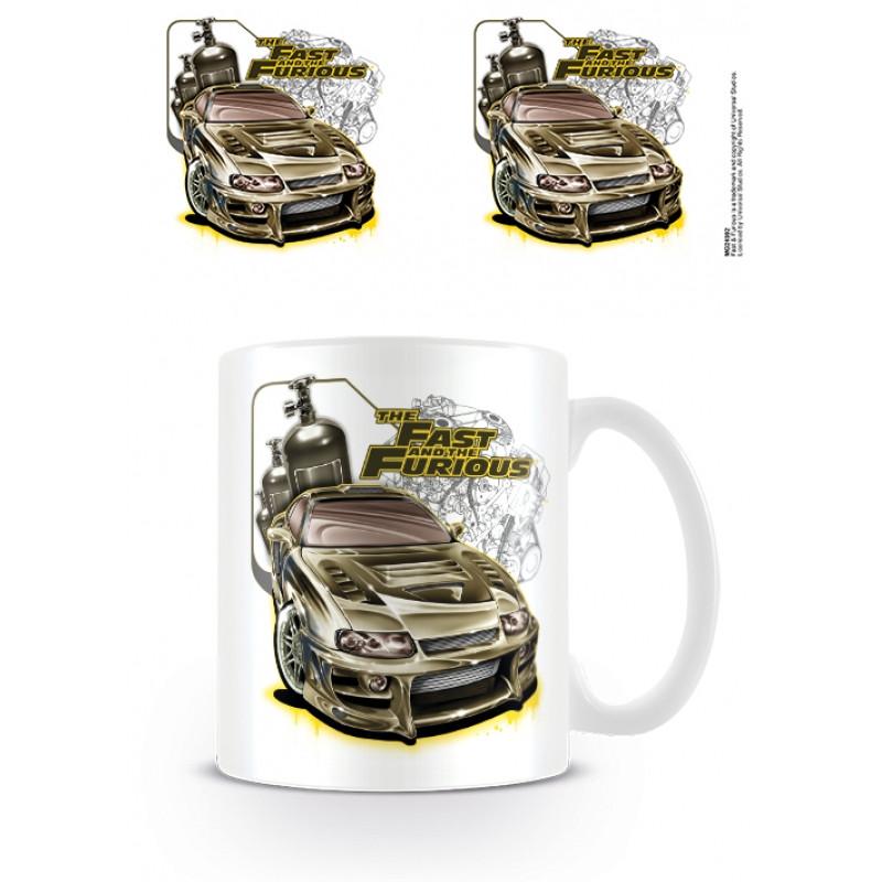 Keramický hrnek Rychle a zběsile / The Fast And The Furious / Nitrous 315 ml / vecizfilmu