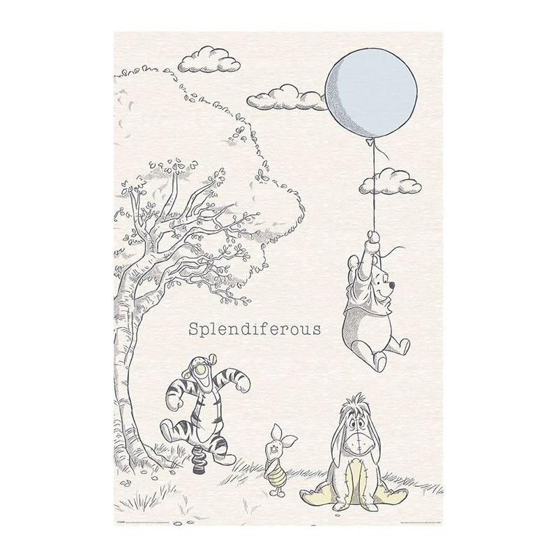 Plakát na stěnu Medvídek Pú / Winnie the Pooh 61 x 91,5 cm