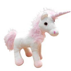 Plyšová figurka Jednorožec / Unicorn White