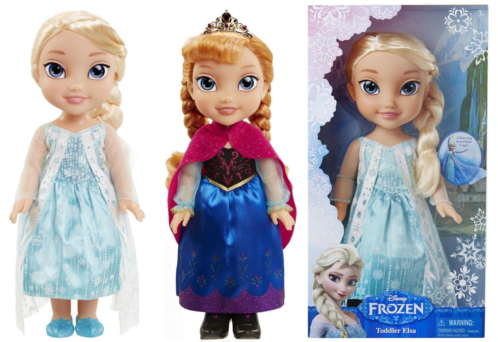 panenka FROZEN - Ledové království Elsa/Anna v nových šatech,...