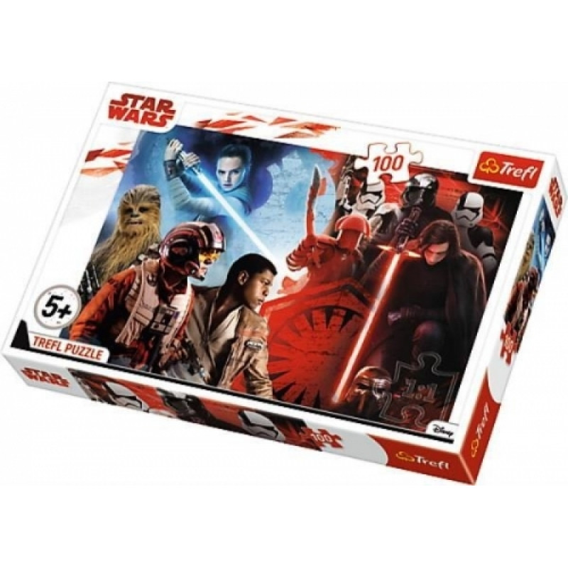 Chlapecké puzzle Hvězdné Války / Star Wars / All Heroes 100 dílků / vecizfilmu